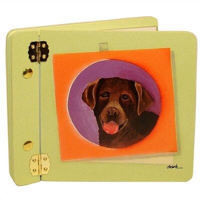 Animals Chocolate Lab Mini Book Photo Album