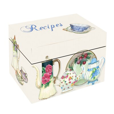 Lexington Studios China Tea Recipe Box