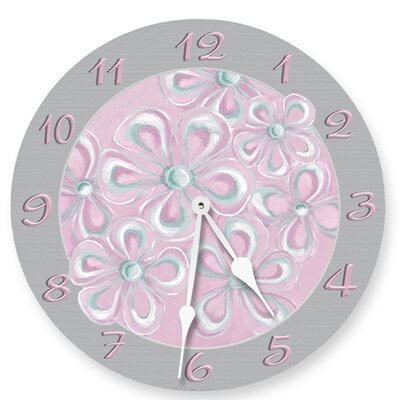 Simply Sweet Round Clock