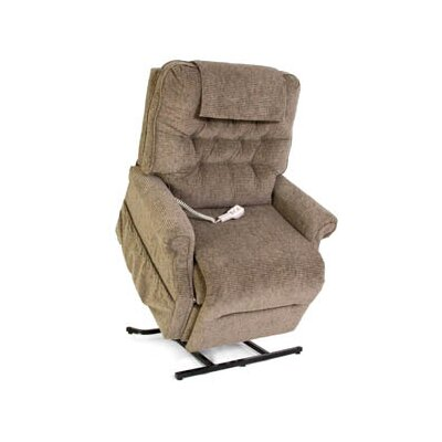Heritage Collection Heavy Duty 3-Position Lift Chair with Button Back - Quick Ship