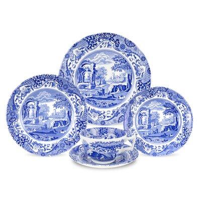 Blue Italian Dinnerware Set