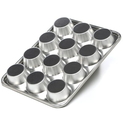 Nordicware Natural Commercial Non-Stick 12-Cup Muffin Pan