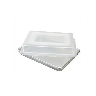 Nordicware Natural Commercial Bakers Half Sheet with Storage Lid
