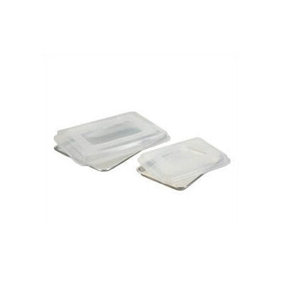 Nordicware Natural Commercial 4 Piece Baking Sheet Set with Lids