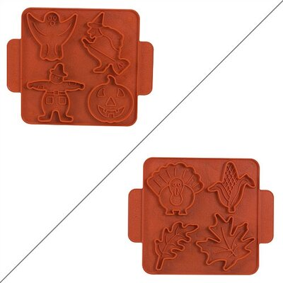 Nordicware Kitchenware Halloween / Harvest Cookie Cutter Sheet