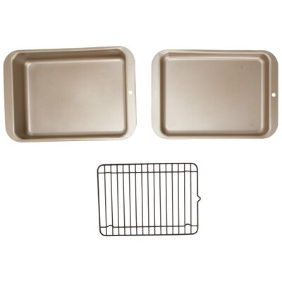 Compact Ovenware 3 Piece Grilling and Baking Set