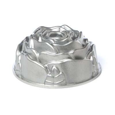 Nordicware Platinum Rose Bundt Pan