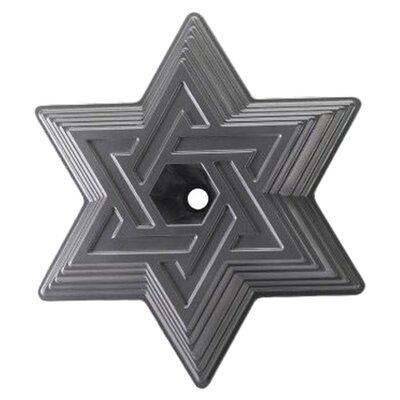 Nordicware Platinum Star of David Bundt