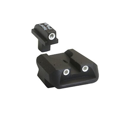 Trijicon Colt 3 Dot Front and Novak Rear Night Sights