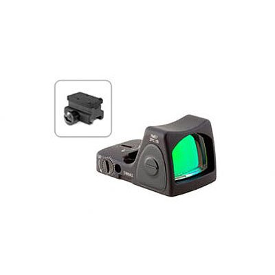 RMR Sight Adjustable LED 3.25 MOA Red Dot with RM34 Picatinny Rail Mount