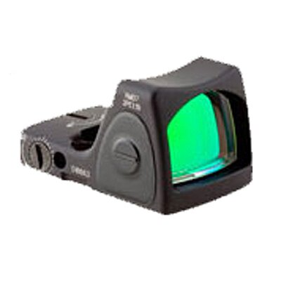 Trijicon RMR Sight Adjustable LED 6.5 MOA Red Dot with RM34 Picatinny Rail Mount