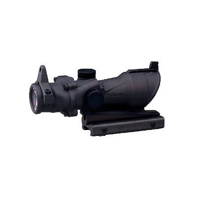 Trijicon ACOG 4x32 Scope with Amber Center Illumination for M4A1 Includes Flat Top Adapter