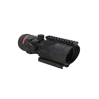 ACOG 6X48 Scope Dual Illuminated Red 500 Ballistic Reticle with TA75 Mount and M1913 Rail ...