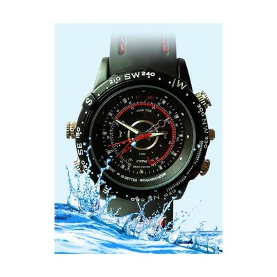 Avangard Optics Waterproof Spy Watch with Digital Video Recorder
