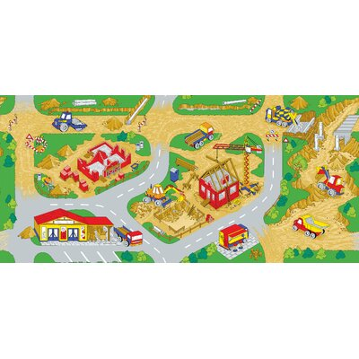 Learning Carpets Play Carpet Construction Zone Kids Rug