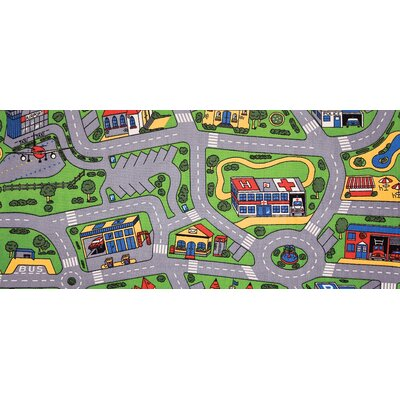 Learning Carpets Play Carpets City Life Kids Rug