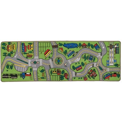 Learning Carpets Giant Road Play Kids Rug