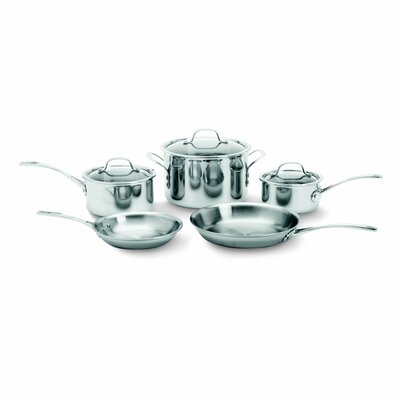 Try-Ply Stainless Steel 8-Piece Cookware Set