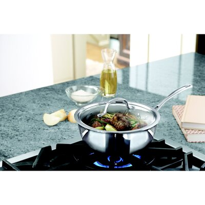 Calphalon Tri-Ply Stainless Steel 3-qt. Chef's Pan with Lid