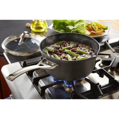 Calphalon Contemporary Nonstick 3.5-qt. Pour and Strain Saucepan