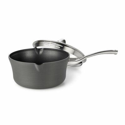 Contemporary Nonstick 3.5-qt. Pour and Strain Saucepan
