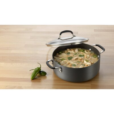 Calphalon Simply Nonstick 5-qt. Soup Pot with Lid