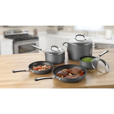 Calphalon Simply Nonstick 8-Piece Cookware Set