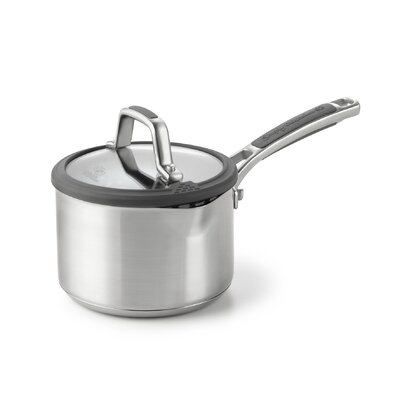 Easy System Stainless Steel Saucepan with Lid