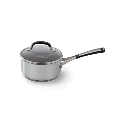 Calphalon Simply Stainless II Stainless Steel Saucepan with Lid