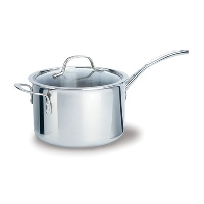 Calphalon Tri-Ply Stainless Steel 4.5-qt. Saucepan with Lid
