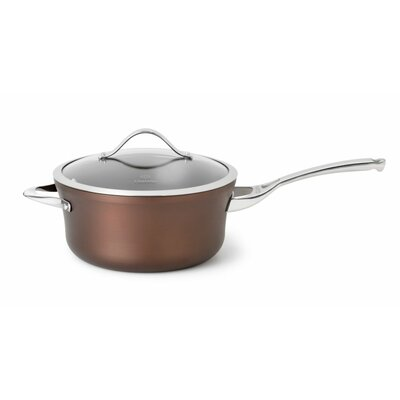 Calphalon Contemporary Bronze Anodized Edition 4.5-qt. Saucepan with Lid
