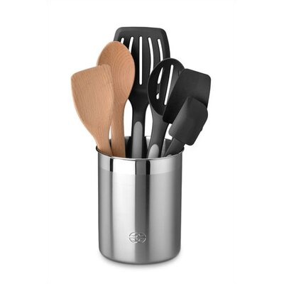 Calphalon 7 Piece Mixed Utensil Set with Crock