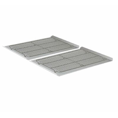 Nonstick Bakeware 4-Piece Large Cookie Sheet and Cooling Rack Set