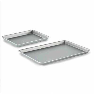 Nonstick Bakeware Baking Sheet and Brownie Combo Set
