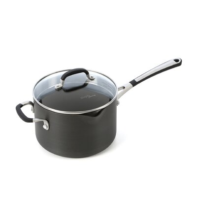 Simply Nonstick 4-qt. Saucepan with Lid