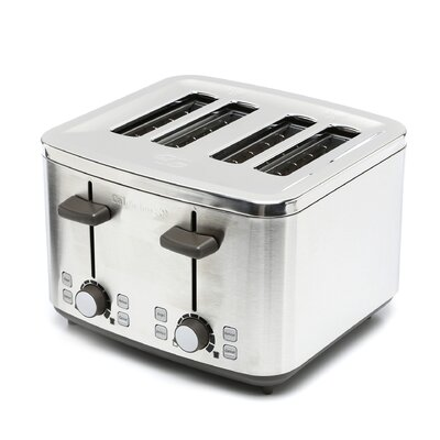 Calphalon 4 Slot Stainless Steel Toaster
