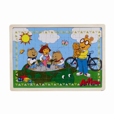PBS Kids PBS Wooden Puzzle Daydreaming and Sandbox