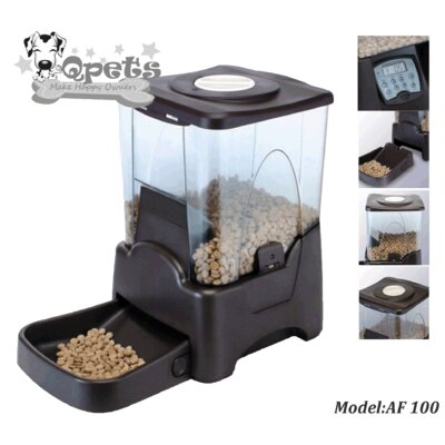QPets Capacity Automatic Pet Feeder