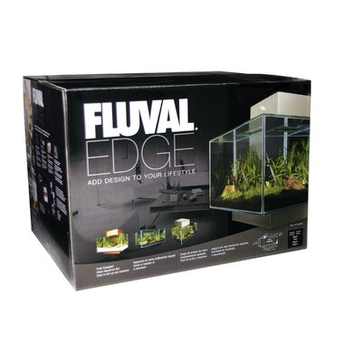 Fluval Edge 6 Gallon Aquarium Set