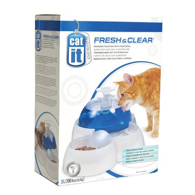 Hagen Catit Fresh and Clear Drinking Fountain for Cats and Dogs