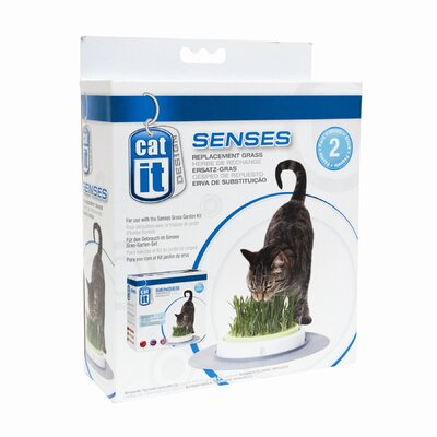 Hagen Catit Design Senses Grass Garden Refill Kit (2 Pack)