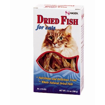 Hagen Catit Dried Fish for Cat - 100 Gram