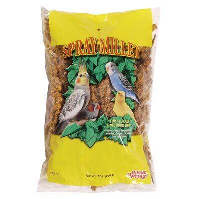 Hagen Living World Spray Millet Treat for Birds