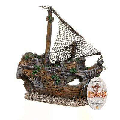 Hagen Marina Sunken Galleon Ornament