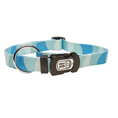 Dogit Style Wild Stripes Adjustable Nylon Dog Collar