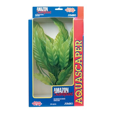 Hagen Marina Amazon Sword Plant Decoration