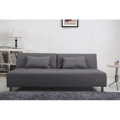 Gold Sparrow Atlanta Convertible Sofa in Light Grey