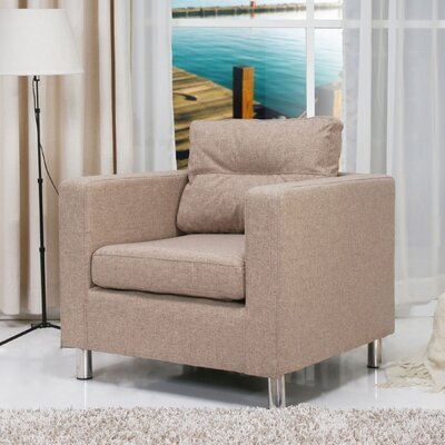 Gold Sparrow Detroit Arm Chair
