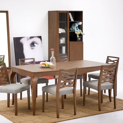 Gold Sparrow Natalie 7 Piece Dining Set