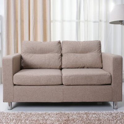 Gold Sparrow Detroit Loveseat